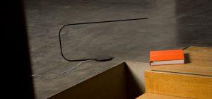 Lampe mit minimalistischem Design